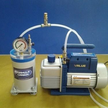 камера для дегазации силикона